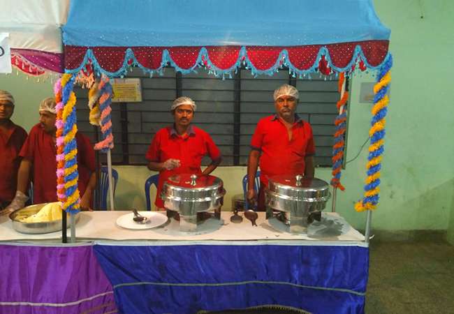 ASN Catering Services in Trichy | Veg Catering Services in